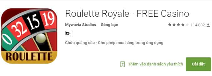 Cacg tai Roulette app cho di dong Android,Iphone hinh anh 1