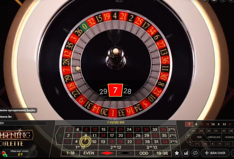 Cach choi Lightning Roulette online